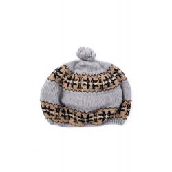 Детска шапка с вълна Trasluz