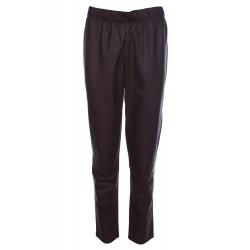 Дамски панталон с еко кожа...