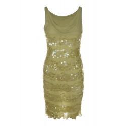 Дамска елегантна рокля с...