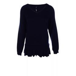 Дамски пуловер с вълна...