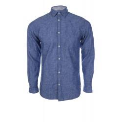 Мъжка риза с лен Jack - Jones