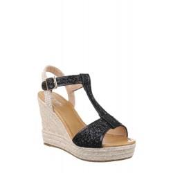 Дамски сандали с еко кожа...