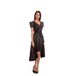 Дамска елегантна рокля Ками